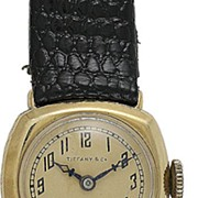 SOLD Vintage Tiffany Longines 18 Karat Gold Ladies' Wristwatch