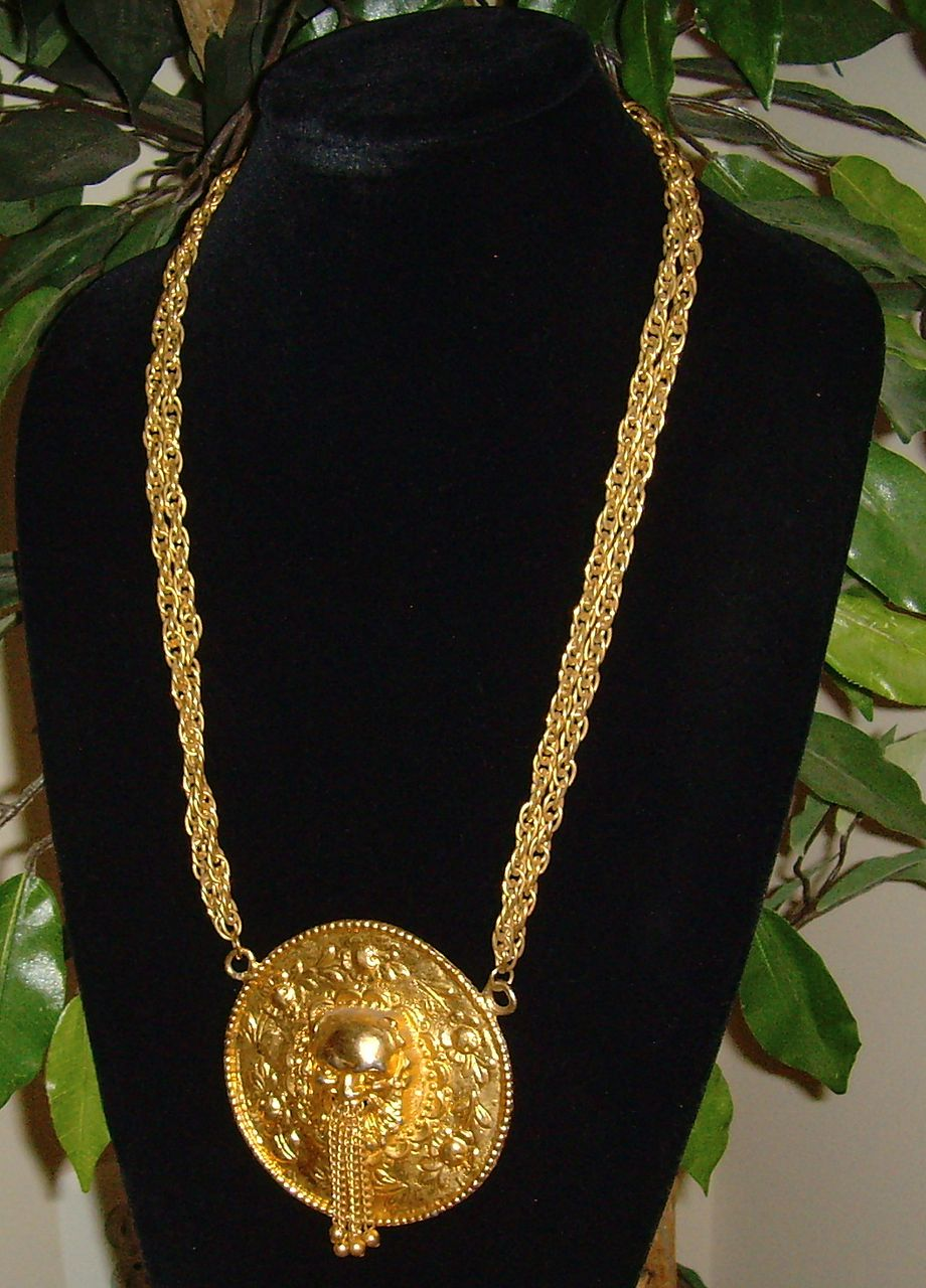 Pauline Rader Gold-Toned Necklace