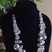 Lucite and Ribbons Necklace