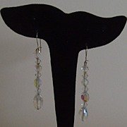 SALE Aurora Boralais Dangle Earrings
