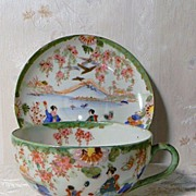 Oriental HP Geisha Girl Cup and Saucer