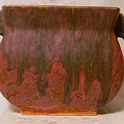 Roseville Carnelian ll Pillow Vase Beautiful