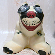 Weller Pop Eyed Dog Figurine