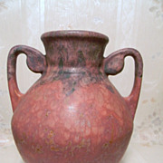 Roseville Carnelian ll  Vase Beautiful