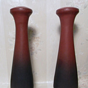 Van Briggle Candle Sticks USA