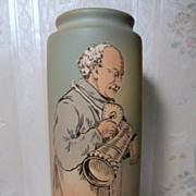 SALE Weller Matt Finish Monk Vase Ex Condition, Signed