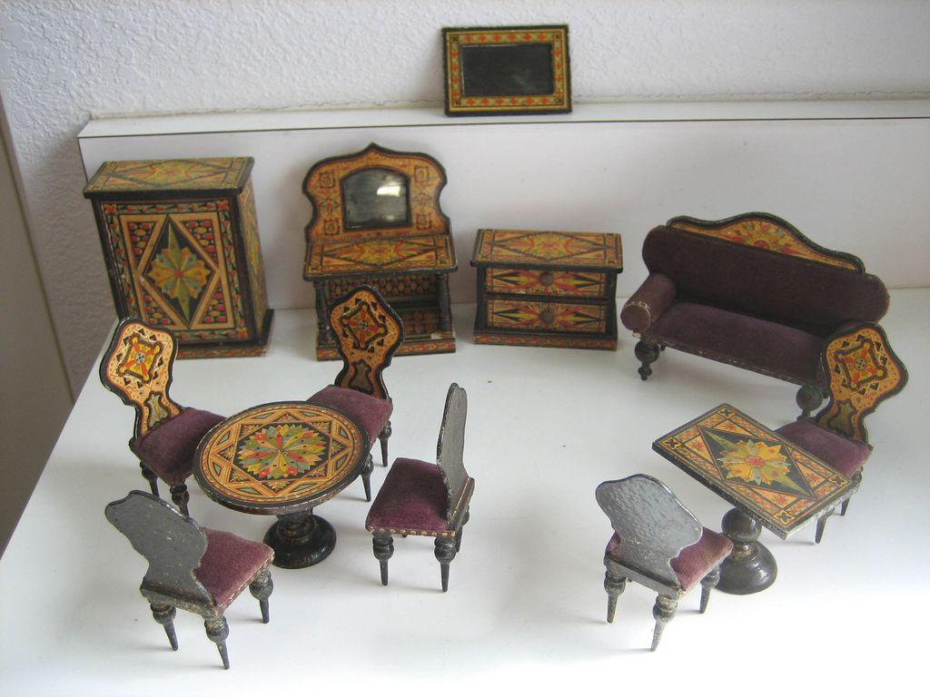 Vintage Dollhouse Miniatures Sexy Stripers