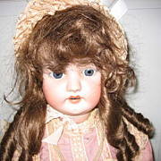 Simon & Halbig antique bisque doll #1079  33""