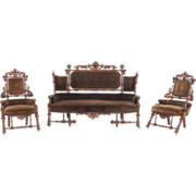 Hunzinger Three Piece Parlor Suite