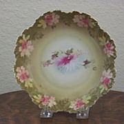 R S Prussia Bowl with Carnations