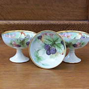 Handpainted Punch Cups with Berries