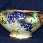 SALE Limoges Punch Bowl with Grapes