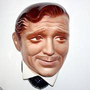 C1980 Clark Gable Clay Art Wall Mask