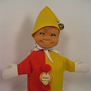 Happy-ness Is This Fantastic Steiff Clown Puppet!