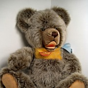 Large Lovable Signed Steiff Zotty Bear