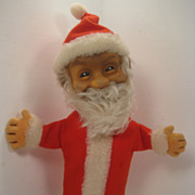It's Always Holiday Time With This Fantastic Steiff Santa Puppet
