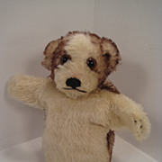 Sweet Molly The Puppy Hand Puppet By Steiff