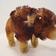 Smallest Steiff Mohair Bison With All IDs