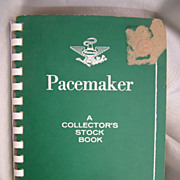 Pacemaker stock book with US stamps 60s to 1970