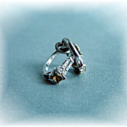 REDUCED Vintage wedding and engagement rings charm
