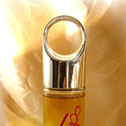 Tempo ultra cologne in lovely bottle with loop top