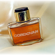 Vintage Cordovan after shave in lovely bottle