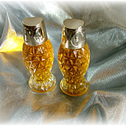 Pair of  Owl  bottles full Timeless Ultra Cologne