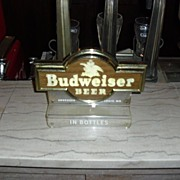 Budweiser Light Up Cash Register Marquee Sign 1950's