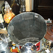 1940's Munsingwear Advertising Counter Mirror from Department Store