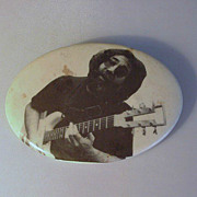 Grateful Dead Jerry Garcia CELLULOID Pinback Travis Bean Guitar