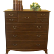 Antique English Mahogany 'Warings' Large Chest of Drawers, Dresser. FREE SHIPPING!*
