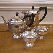 Vintage Viners of Sheffield, England, Silver Plated Tea Set.