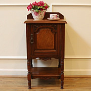 Antique English Mahogany Pot Cupboard, Side Cabinet Table. FREE SHIPPING!*