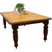 Antique English Oak Heavily Carved Victorian Dining Table. FREE SHIPPING!*