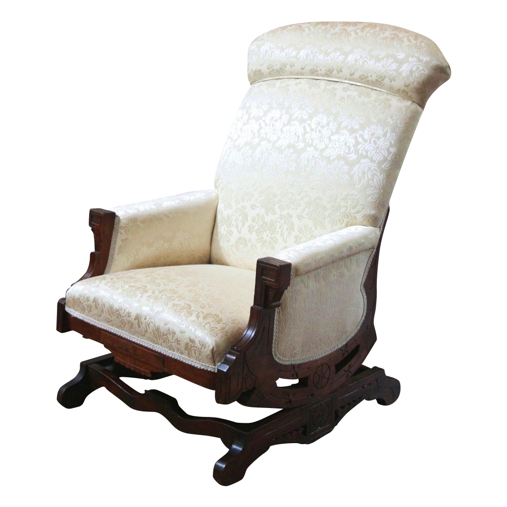 Antique cane rocking chair - Antique Furniture Plank Rocking Chair With Coil Springs Images