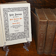 "6 Volumes ""Little Journeys To The Homes Of......"" By Elbert Hubbard, The Roycrofters"