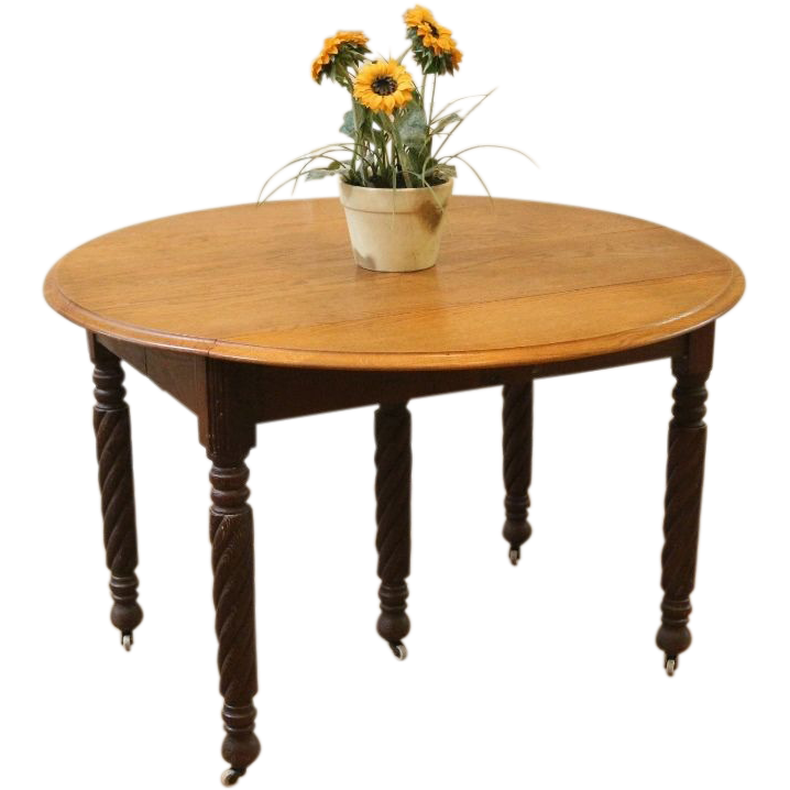 leaf dining table round banded drop leaf dining table on country oak