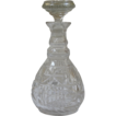 Antique Early American Cut Crystal Decanter.