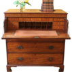 Antique Georgian Mahogany Secretaire, Butlers Chest of Drawer,  Bureau, Desk. FREE SHIPPING!*