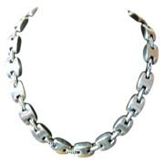 Lagos Caviar Necklace in Sterling Silver/14K accents