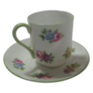 Shelley Miniature Cup and Saucer Rose Floral Pattern