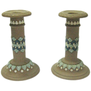 REDUCED Doulton Lambath Candlesticks