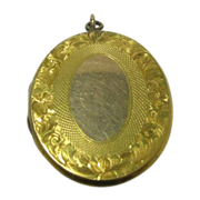 Victorian Gold Filled Locket Circa 1900