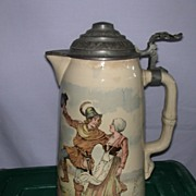 Mettlach Pouring Pitcher