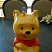 Pooh Bear Disney Cookie Jar