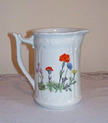 Louis Lourioux France Wild Flower Pitcher
