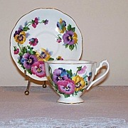 Queen Anne Spring Melody Tea Cup and Saucer