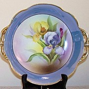 Noritake Hand Painted Iris Serving Dish