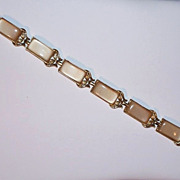 SALE Coro Tan Thermoset Bracelet