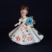 Josef Originals December Birthday Doll Figurine